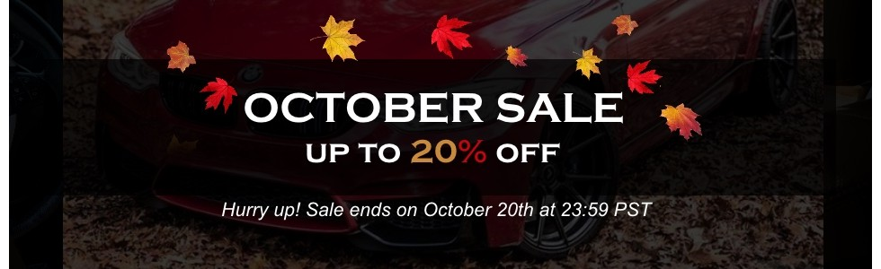Enjoy up to 20% OFF
