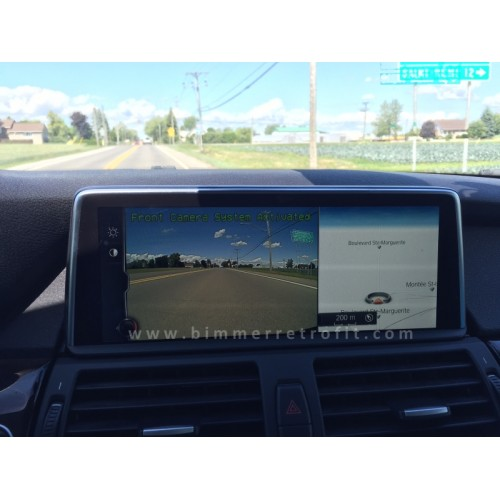 DYNAMIC LINES REAR-VIEW CAMERA RETROFIT with FRONT CAMERA support