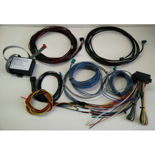 iBus kit full1 500x500 enbt retrofit adapter for e53, e46, e39, etc bmw series Wire Harness Assembly at fashall.co