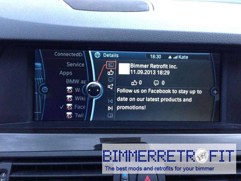 Bimmer Retrofit: Bluetooth, Bluetooth audio streaming, BMW Apps, etc
